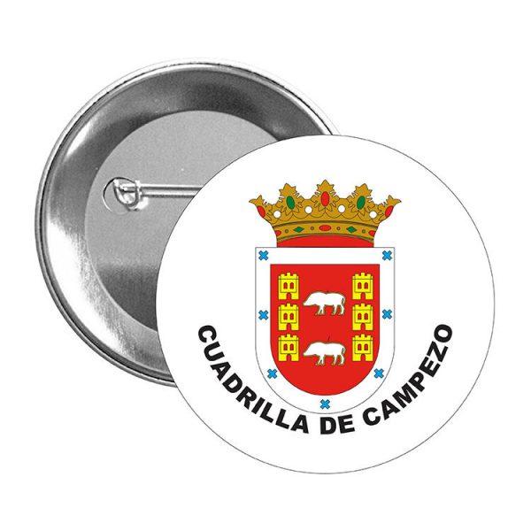 chapa escudo heraldico cuadrilla de campezo