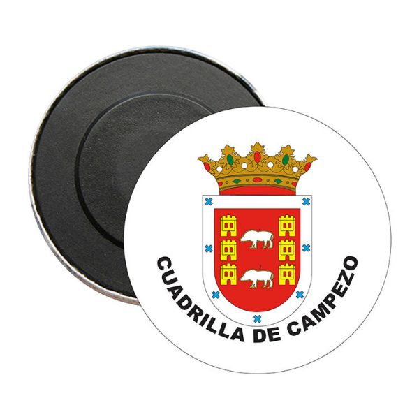 iman redondo escudo heraldico cuadrilla de campezo