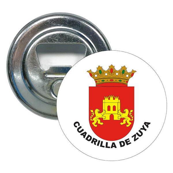 abridor redondo escudo heraldico cuadrilla de zuya