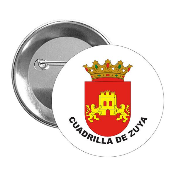 chapa escudo heraldico cuadrilla de zuya