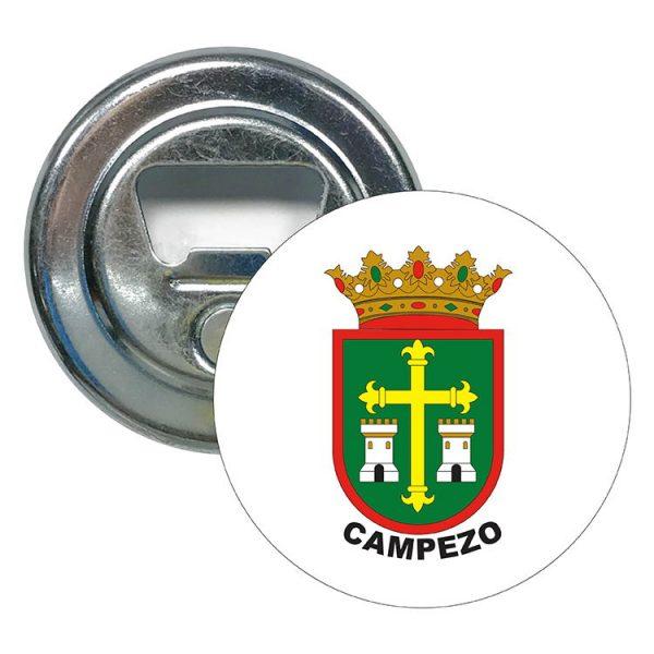 abridor redondo escudo heraldico campezo