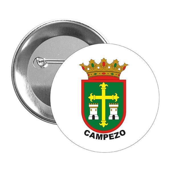 chapa escudo heraldico campezo