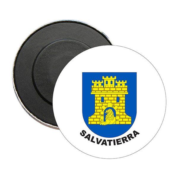 iman redondo escudo heraldico salvatierra