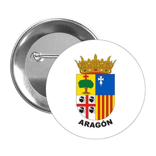 chapa escudo heraldico aragon