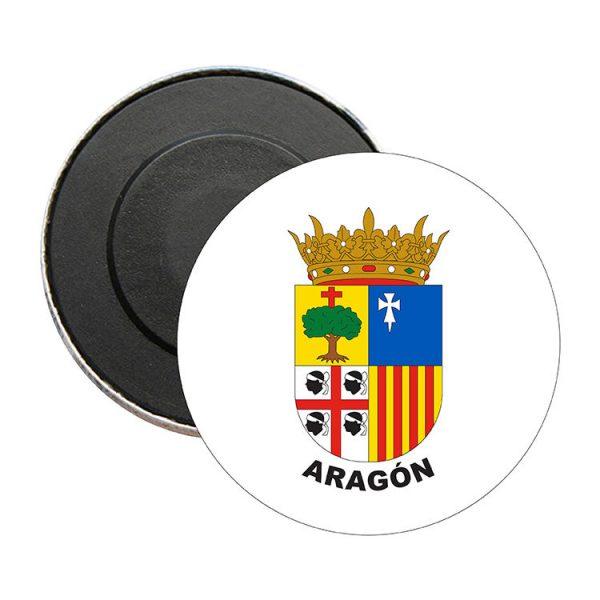 iman redondo escudo heraldico aragon