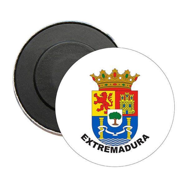iman redondo escudo heraldico extremadura