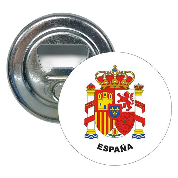 abridor redondo escudo heraldico espana