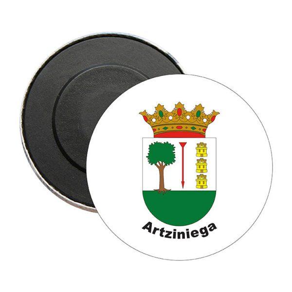iman redondo escudo heraldico artziniega