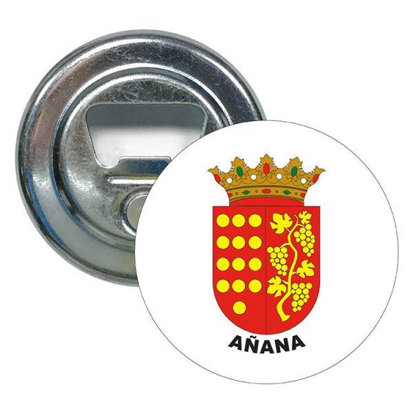 abridor redondo escudo heraldico anana