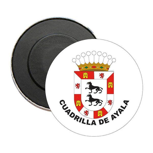 iman redondo escudo heraldico cuadrilla de ayala