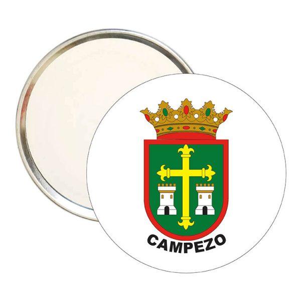 espejo redondo escudo heraldico campezo