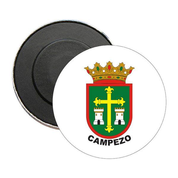 iman redondo escudo heraldico campezo