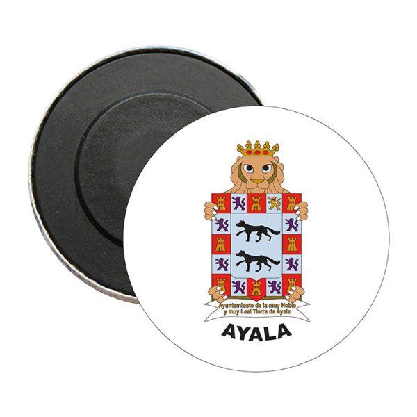 iman redondo escudo heraldico ayala
