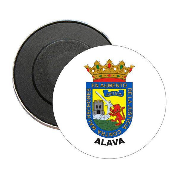 iman redondo escudo heraldico alava