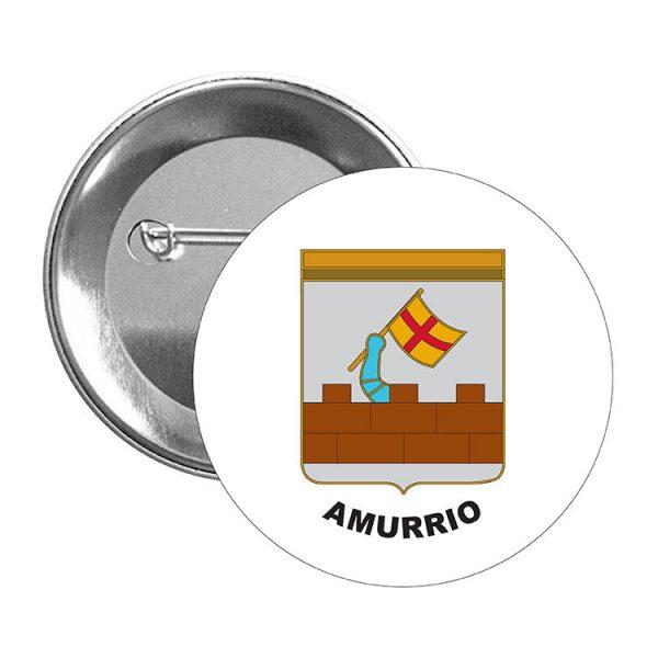 chapa escudo heraldico amurrio