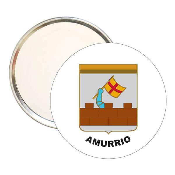 espejo redondo escudo heraldico amurrio