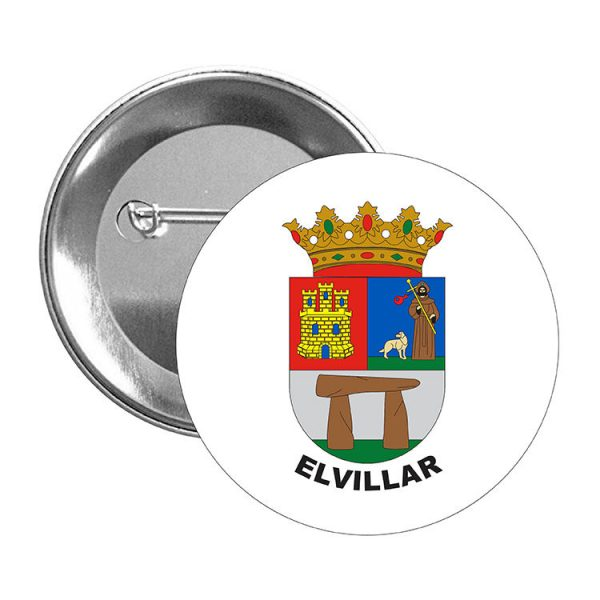 chapa escudo heraldico elvillar