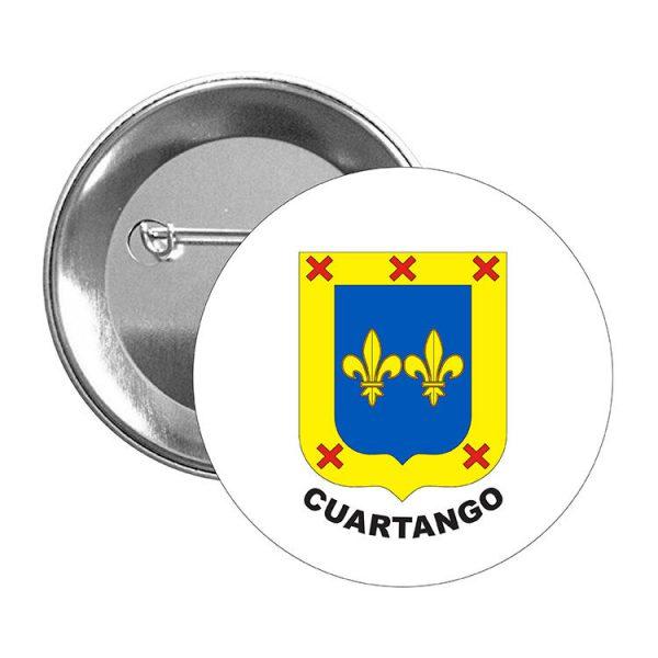 chapa escudo heraldico cuartango