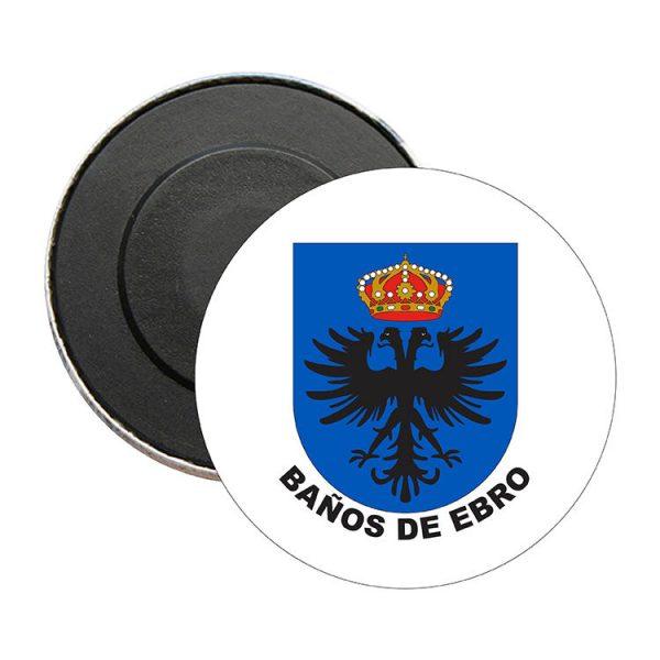 iman redondo escudo heraldico banos de ebro