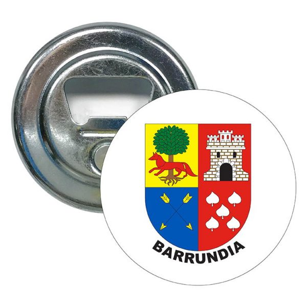 abridor redondo escudo heraldico barrundia