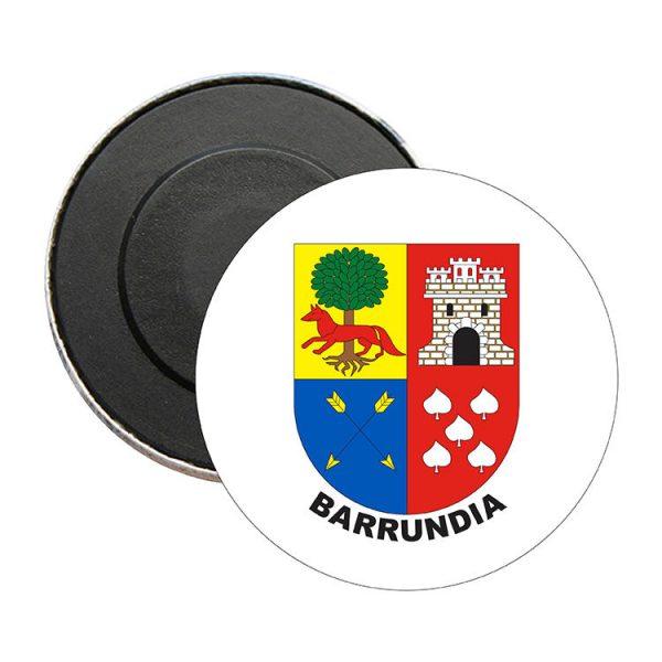 iman redondo escudo heraldico barrundia