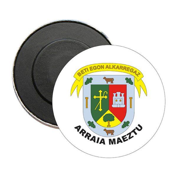 iman redondo escudo heraldico arraia maeztu