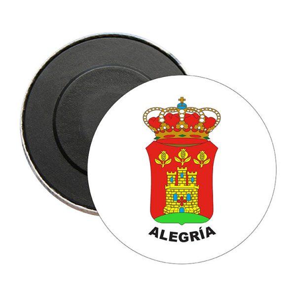 iman redondo escudo heraldico alegria