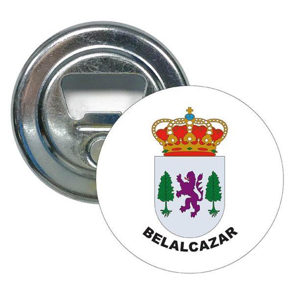 abridor redondo escudo heraldico belalcazar