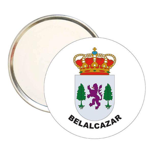 espejo redondo escudo heraldico belalcazar