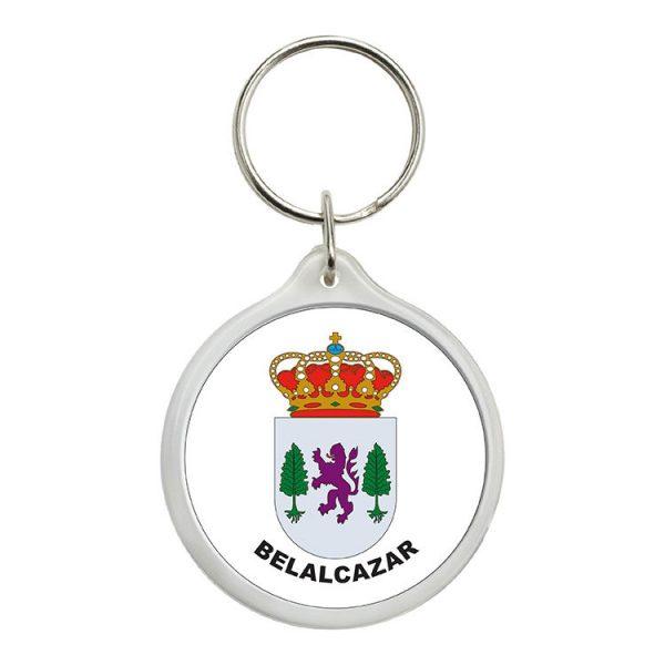 llavero redondo escudo heraldico belalcazar