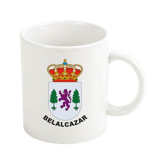 taza escudo heraldico belalcazar