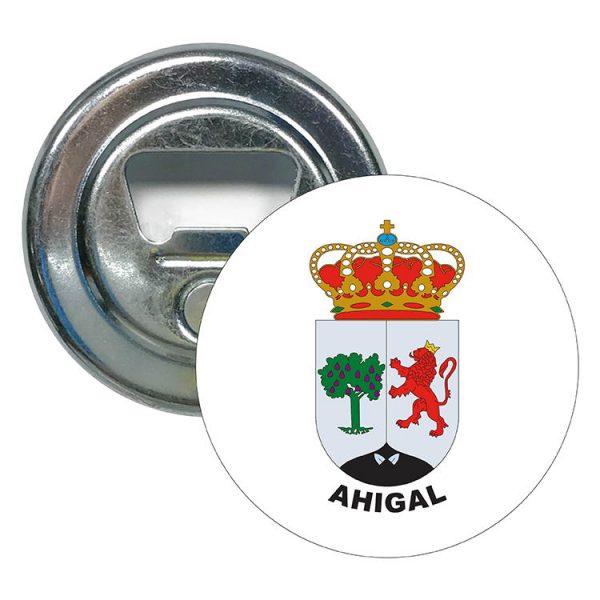abridor redondo escudo heraldico ahigal