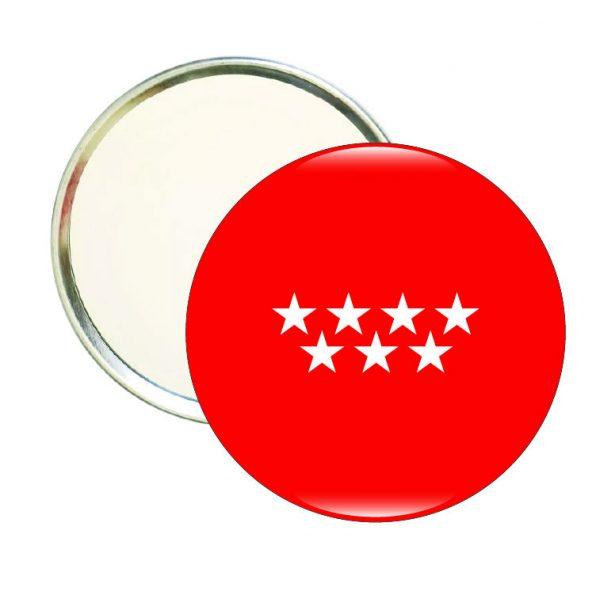 espejo redondo bandera madrid