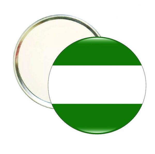 espejo redondo bandera andalucia