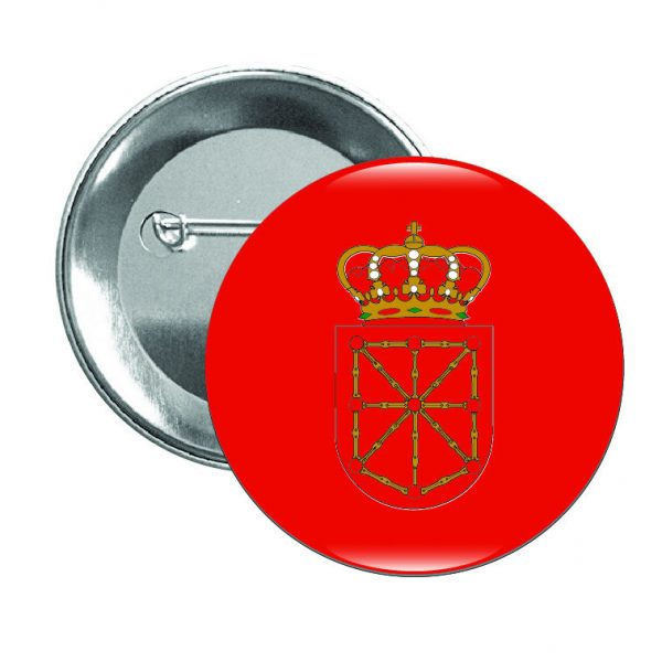 98 chapa escudo navarra