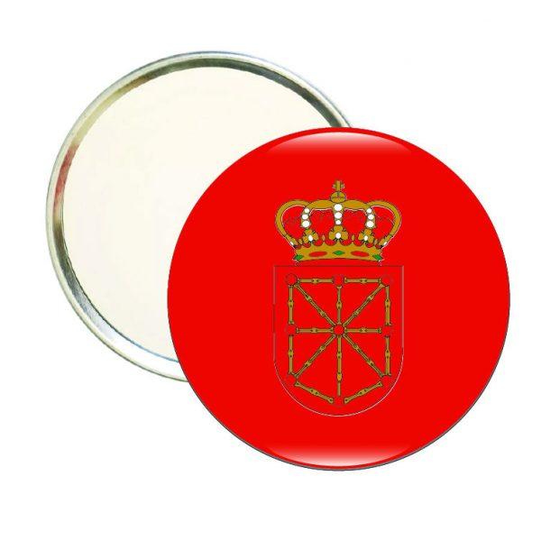espejo redondo escudo navarra
