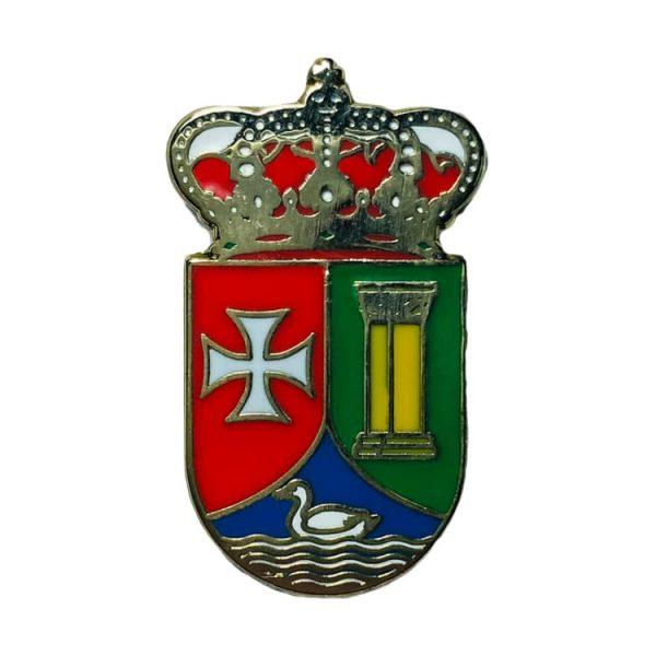 pin escudo heraldico abanades guadalajara