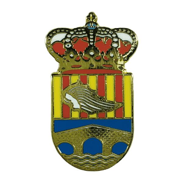 pin escudo heraldico alcantara del jucar valencia