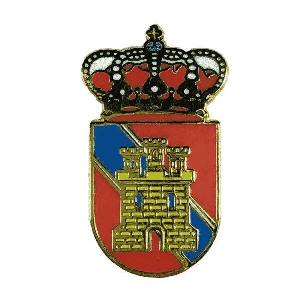 pin escudo heraldico almuniente huesca