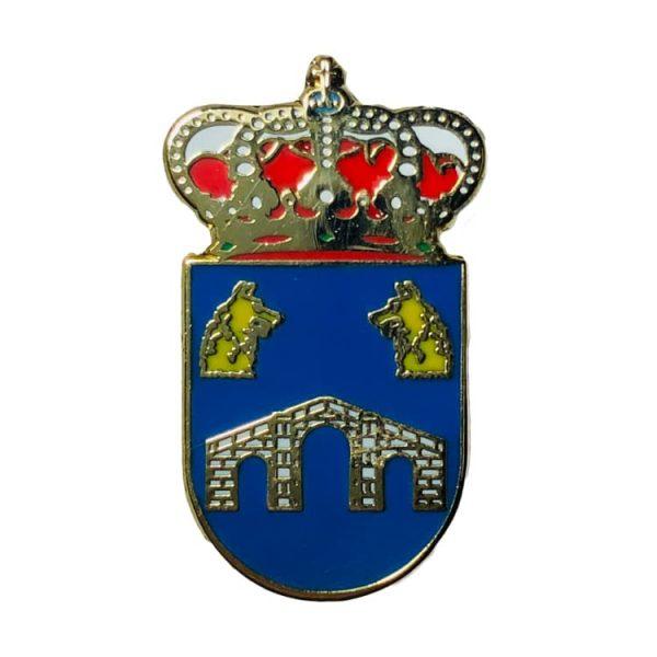 pin escudo heraldico ballobar huesca