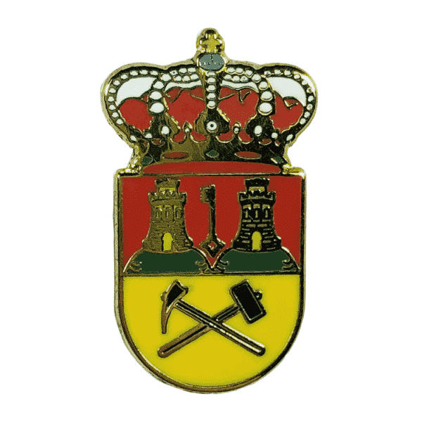pin escudo heraldico bedar almeria