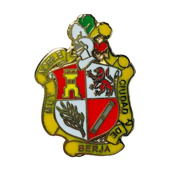 pin escudo heraldico berja almeria