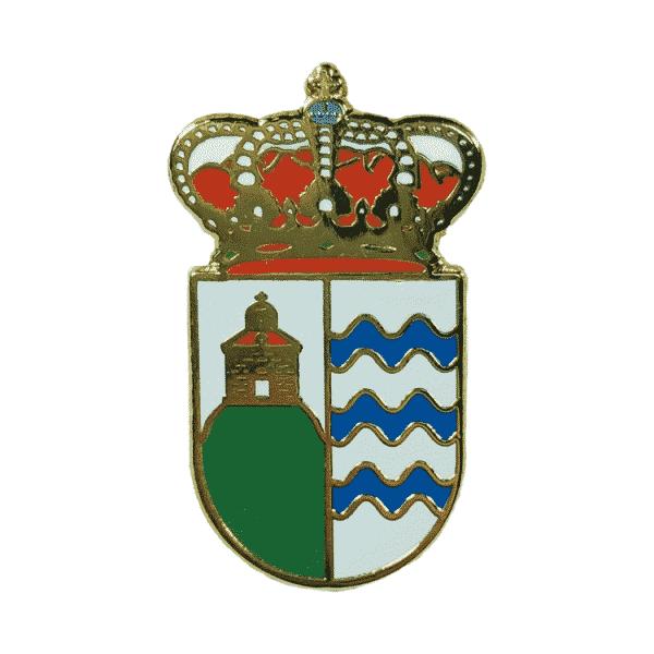 pin escudo heraldico bobadilla del campo valladolid