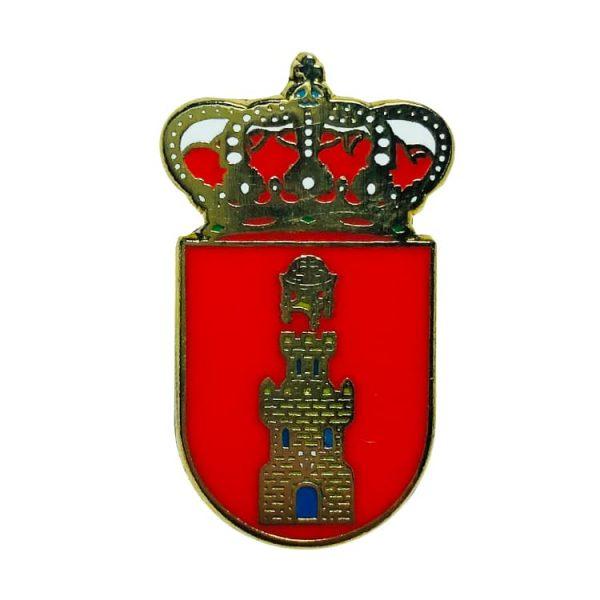pin escudo heraldico bujaraloz zaragoza