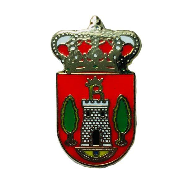 pin escudo heraldico bulbuente zaragoza