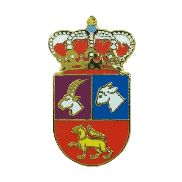 pin escudo heraldico cabreros del monte valladolid