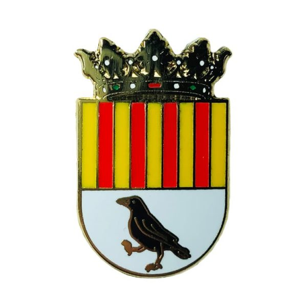 pin escudo heraldico carcer valencia
