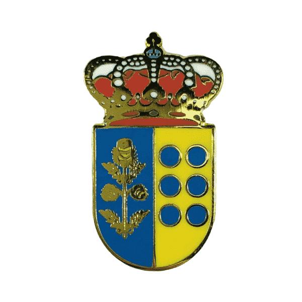 pin escudo heraldico cardiel de los montes toledo