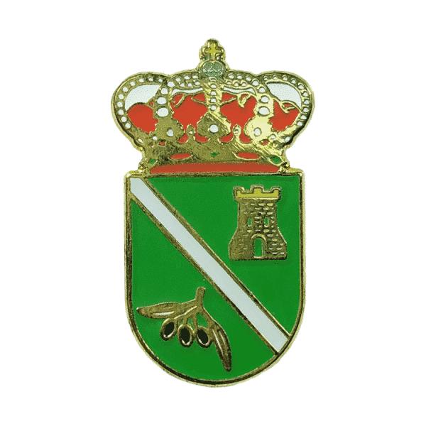 pin escudo heraldico castil de campos cordoba