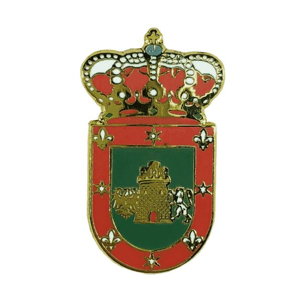 pin escudo heraldico castilleja del campo sevilla